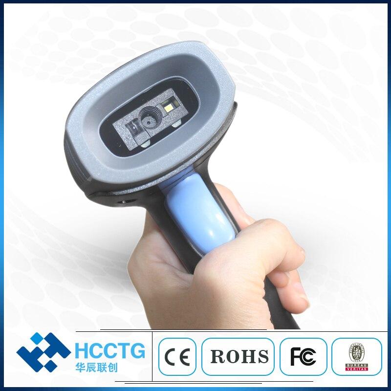 Двойной Режим триггера Bluetooth 2,4G беспроводной CMOS 2D сканер штрих кодов HS 6400