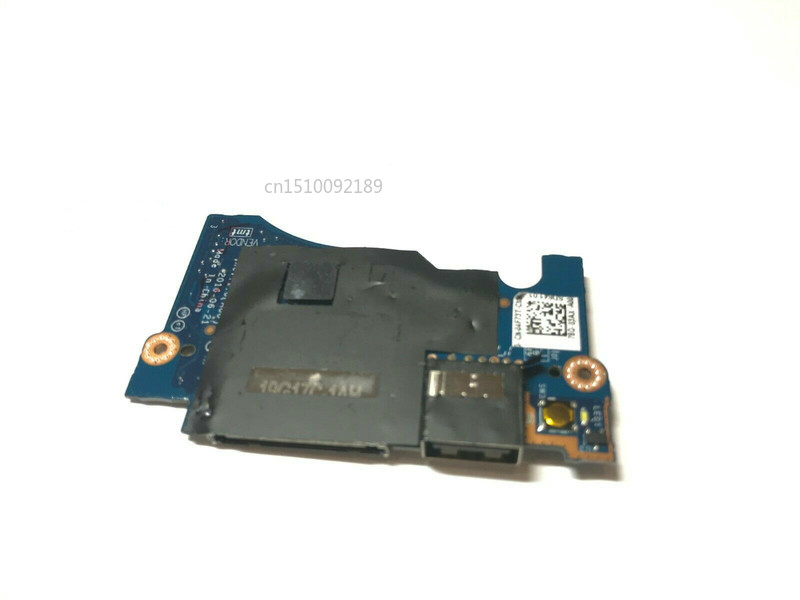 Free Shipping Original For Dell XPS 13 9360 Usb Board Power Switch Button Board LS-D841P CN-04F73T