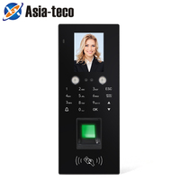 Facial Recognition Time Attendance System Access Control RFID Face Fingerprint Password Attendance Access Control Machine