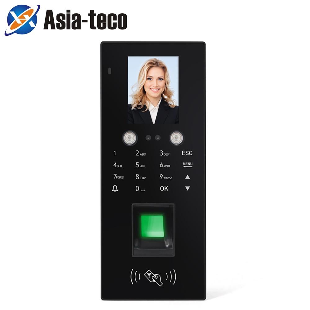 Распознавание лица система контроля доступа RFID отпечаток лица пароль посещаемость система контроля доступа