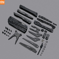 Xiaomi Mijia NEXTOOL 10 In 1 Tools Multifunctional Tools Blade Folding Pliers Camping Hiking Cycling Portable Scissors Opener