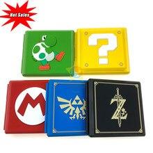 Voor Nintend Schakelaar Accessoires Draagbare Game Kaarten Case Shockproof Hard Shell Opbergdoos Voor Nintendo Switch Ns Games