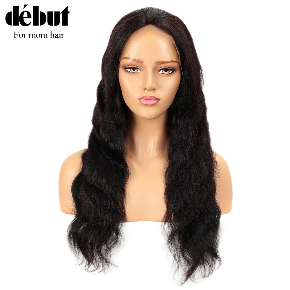 Debut Lace Human Hair Wigs Body Wave 13X4 Lace Frontal Wig Remy Brazilian Hair Wigs Short Human Hair Wigs Lace Frontal Wig