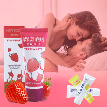 50 Ml Sex Lubricant Water-Based Grape/Apple/Blueberry/Cherry Oil Vaginal And Anal Gel Adults Product For Anal Gay Sex Oil image