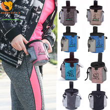 2020 New Pet  Snack Bag  Dog Outdoor Pouch Food Bag Oxford Cloth Training Waist Bag With Belt Portable  Dog Training Treat Cats pet training belt bag with belt portable and convenient to go out training pet special snack bag training bag snack bag