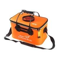 Taşınabilir balıkçı çantası EVA su kovası katlanabilir büyük kapasiteli su deposu kutusu katlanır balıkçılık su deposu balıkçılık için