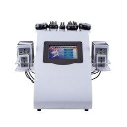 40K kawitacja ultradźwiękowy odchudzanie urządzenie kosmetyczne wielobiegunowy RF przeciwzmarszczkowy odmładzanie maszyna do odchudzania w Akcesoria do urządzeń do pielęgnacji osobistej od AGD na