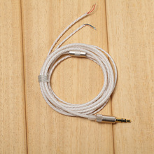 For DIY Replacement HIFI Earphone Cable 1.2m Audio Cable Headphone Repair Headset Wire DIY Headphone Earphone Maintenance Wire цена и фото