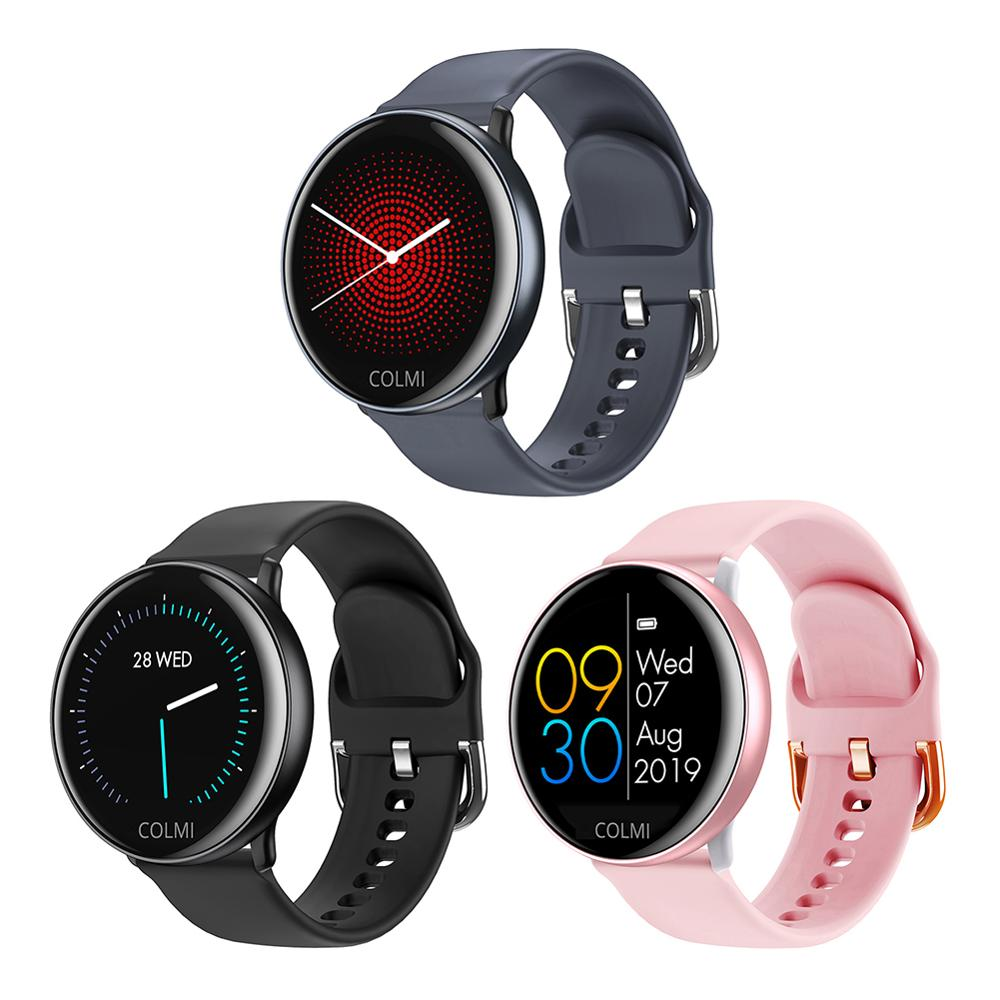 SKY-2 Smart Watch IP68 Waterproof Full Touch Heart Rate Fitness Activeity Tracker Man Woman Sports Smartwatch 40DC27