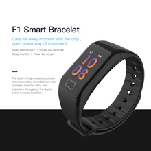F1 Plus Smart Band Blood Pressure Waterproof Color Screen Sports Bracelet Heart Rate Monitor Wristbands