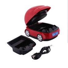 Портативное устройство для удаления дыма очиститель автомобиля бездымный USB для батареи пепельница Декор