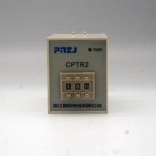 0.1s-99h nouveau et original CPTR2-2MF relais temporisé numérique PNZJ ST5P (version de mise à niveau is ST3P) AC220V, AC380V, AC110V, DC24V DC12V