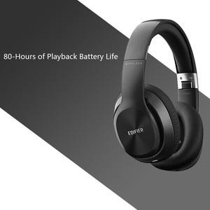 Image 5 - EDIFIER W820BT Bluetooth אוזניות אלחוטי על אוזן רעש בידוד CSR טכנולוגיה עד 80 שעות השמעת זמן לקפל בקלות