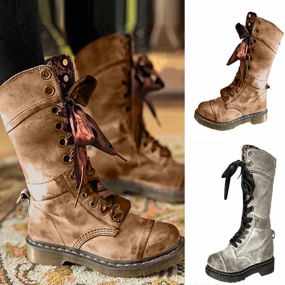 Boots Shoes Buty Damskie Mid-Calf Boots