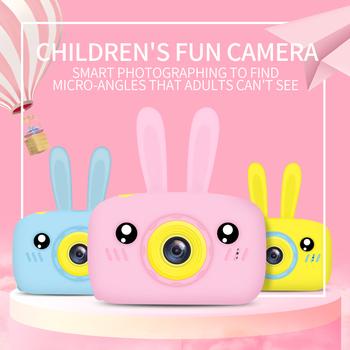 Aparat fotograficzny dla dzieci aparat cyfrowy HD 2 calowy aparat fotograficzny dla dzieci zabawki prezent urodzinowy dla dzieci 1200w aparat zabawki dla dzieci tanie i dobre opinie REDANT 2x-7x CN (pochodzenie) Brak Hd (1280x720) 4 3 cali 18-55mm 10 0-20 0MP Karta sd Standardowy ekran 2 -3 Zdjęcie JPEG Wideo AVI