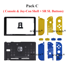 IVYUEEN for Nintendo Switch Console Replacement Limited Edition Housing Shell Cover for Nitendo Switch Back Faceplate Casing