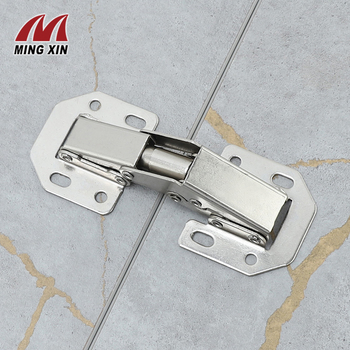 MX 90Degree3-4Inch Not Drilling Hole Cabinet Hinge Cabinet door soft closing hinge Hydraulic buffer hinge Furniture hardware цена 2017