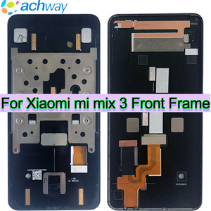 used Middle Frame for xiaomi mi mix 3 Frame Bezel Chassis Replacement For xiaomi mi mix 3 mix3 Front Frame