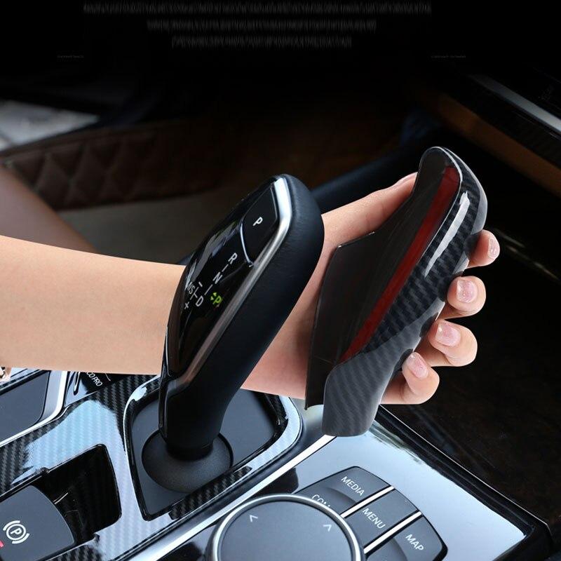 Автомобильный чехол для рычага переключения передач, рукоятка рычага переключения передач, чехол для BMW 5 6 7 серии G30 G32 G11 G12 X3 G01 X4 G02