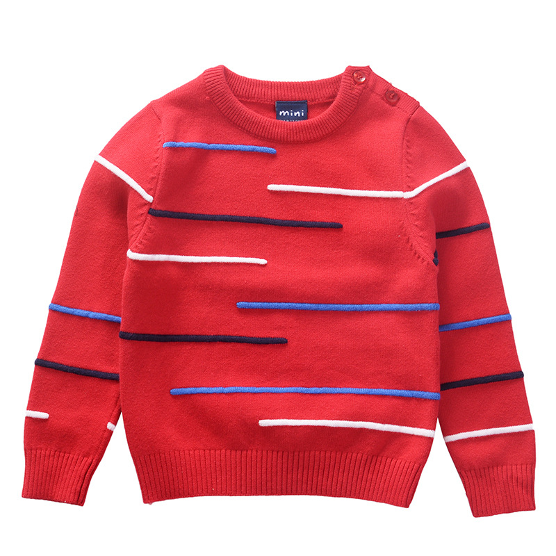 toddler boys girls sweaters children's clothing baby kids pullover cotton knitted wear warm winter fall