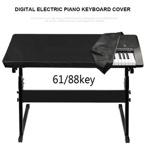 Waterproof Electronic Digital Piano Cover Dustproof Durable Foldable for 61/88-key Dirt-Proof Protector Piano Covers on Stage