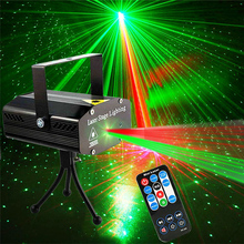 DJ Disco Laser-Light-Projector Stage-Lighting Remote-Control KTV Strobe Party-Club Christmas