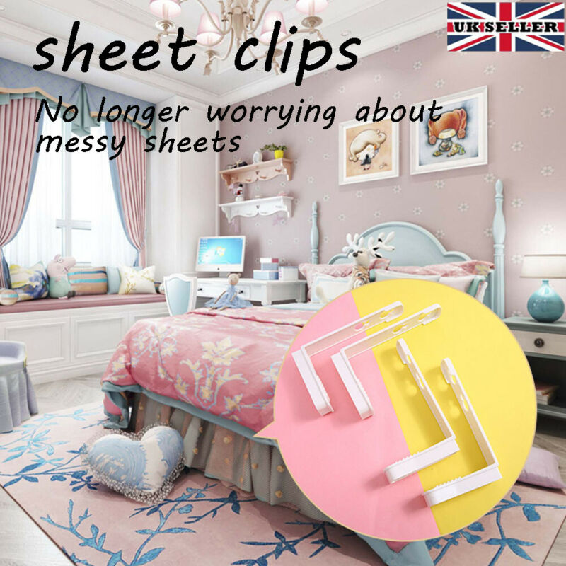 Portable Grippers Clip Clamp Bed Duvet Quilt Cover Sheet Holder Non-slip Set-HOT