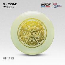 Disque volant professionnel ultime certifié par WFDF pour la compétition de disques ultimes Sports 175g