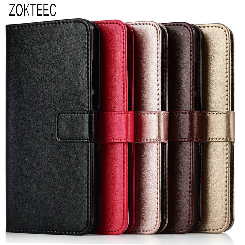 Luxury Wallet Cover Flip Business Book <font><b>Case</b></font> for Huwei Honor 7C 8C 9X 7X 7A Pro 2018 Y3 <font><b>Y5</b></font> Y6 Prime II 2018 <font><b>2019</b></font> 2017 leather cae image