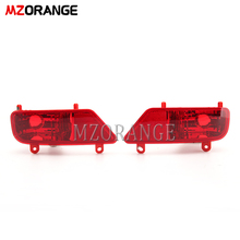 Red Rear Bumper Reflector Light For Peugeot 3008 2009-2016 Tail Stop Turn signal light Car Accessories Brake Rear Fog lamp