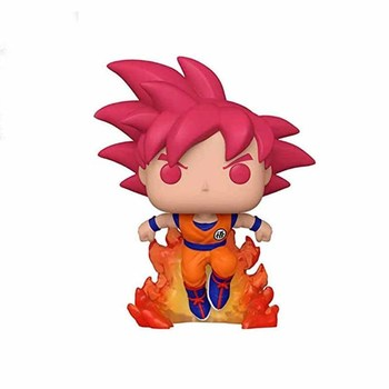 FUNKO POP Dragon Ball Super Saiyan Goku #827 Action Figure Toys 10cm Vinly Model Dolls for Kids Birthday Gifts 2