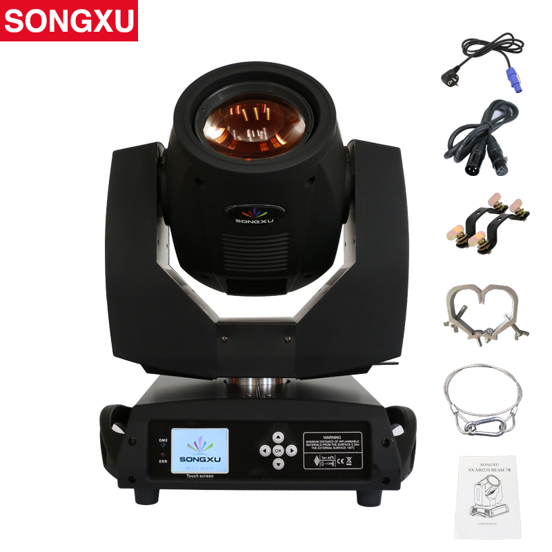 Stage Beam Moving-Head-Light Touch-Screen Disco-Lights/sx-Mh230 230W 7R