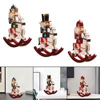 Vintage Nussknacker Soldat Stehen Neue Jahr Weihnachten Urlaub Weihnachten Ornamente Hause Dekoration Geschenk -- 30x25x9cm