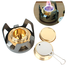 Wind Proof Outdoor Alcohol Burner Camping Liquid Solid Stove Portable Furnace Cooking Picnic Tourist kitchen Equipment