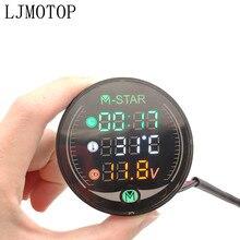 Motorfiets instrument LED Digitale Display Meter waterdicht Voor Suzuki GSF600 Bandit GS1000 GS500 GSX1100F Katana Accessoires