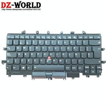 ES Latin Spanish Backlit Keyboard for Lenovo Thinkpad X1 Carbon 4th Gen 4 MT: 20FB 20FC Backlight Teclado SN20K74756 00PA708