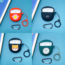 DIY Cartoon Earphone Case For Realme Buds Air Pro Wireless Bluetooth Earphone Case Cute Soft Silicone Protective Case Cover