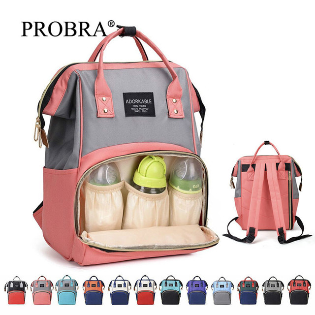 Hohe Qualität Große Kapazität Windel Tasche Multifunktions Baby Schlafsäcke Mutterschaft Paket Mutter Reise Rucksäcke Mutterschaft Nette