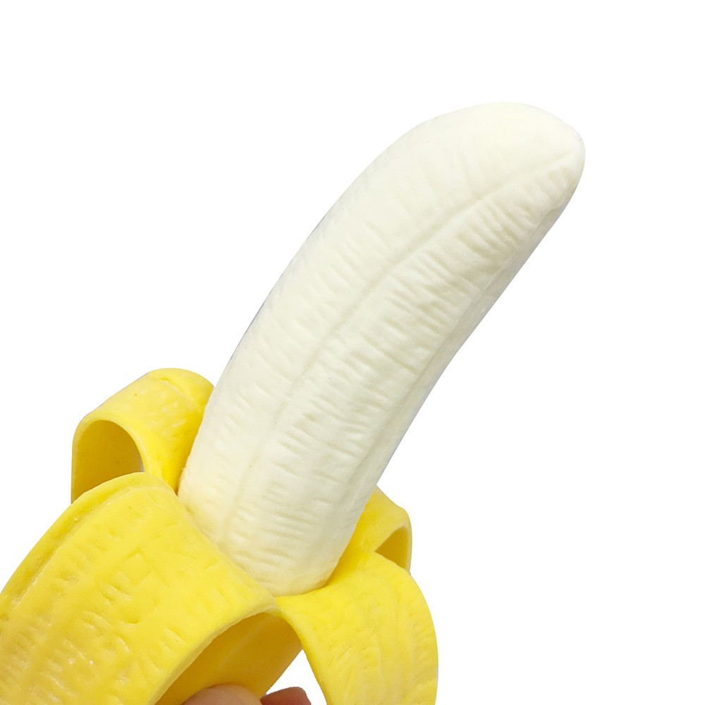 Kawaii Toy Fidget-Toys Jumbo Banana Mochi Squeeze Antistress Popit Fun Reliever Simulation img5