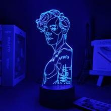 3d luz da noite harry anime lâmpada de iluminação do feriado luzes da noite decoração do quarto lâmpada led quarto decorações frete grátis