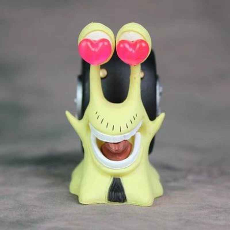 אנימה חתיכה אחת מושי דן דן טלפון דמות לופי Sanji חוק נאמי ופר פעולה איור PVC דגם צעצוע בובה