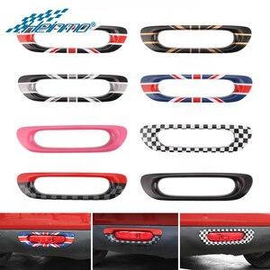 Image 1 - Car Rear Light Cover Sticker for MINI Cooper F56 F55 Taillight Tail Lamp Decoration Stickers for MINI F56 F55 Style Accessories