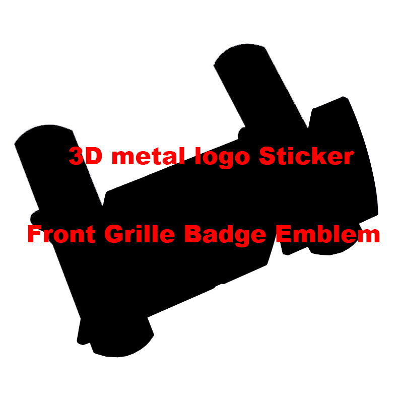 3D Metal Car Body Sticker Front Grille Badge Emblem For bmw M Sticker X1 X3 X4  X5 X6 X7 e46 e90 f20