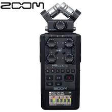 Zoom H6 BLK przenośny ręczny cyfrowy rejestrator 6-Track dla wywiadu X Y mic interfejs audio obsługa multi-track dla muzyka tanie tanio handy recorder CN (pochodzenie)