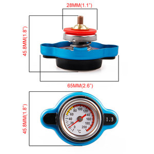Image 2 - Free Shipping Temperature Gauge with Utility safe 0.9 and 1.1 and 1.3 bar Thermo Radiator Cap Tank Cover without logo