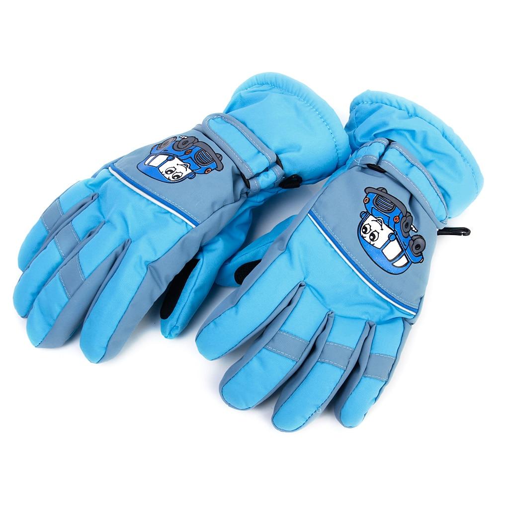1 Pair Anti-slip Winter Warm Breathable 6-8 Years Children Kids Ski Skating Gloves Sky Ski Gloves