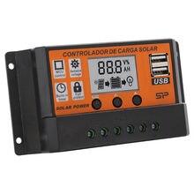Регулятор напряжения солнечной панели 10 а контроллер зарядки