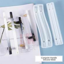 DIY kristal epoksi reçine meyve tepsisi kompostosu kolu silikon kalıp reçine kalıp DIY reçine el sanatları takı yapımı araçları
