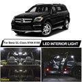 Светодиодная интерьерная с Canbus Карта Купол дверь багажника светильник набор для Mercedes Benz MB GL Class X164 X166 GL450 GL500 GL550 автомобильные аксессуары для...