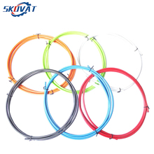 цена на New Jagwire Road Bicycle Variable speed line pipe Mountain Bikes Gear Shift  line pipe 4MM*2M Multi Color